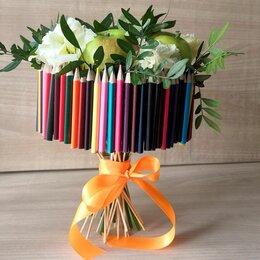 Цветы, букеты, композиции - Съедобный  букет ко Дню учителя , 0
