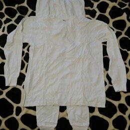 Домашняя одежда - Пижама белая 100% хлопок ., 0