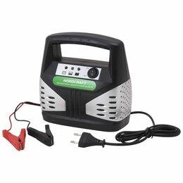 Аккумуляторы и комплектующие - Зарядное устройство для автоаккумуляторов 10-60 Ач, 12В; NordCraft EC-60, 0