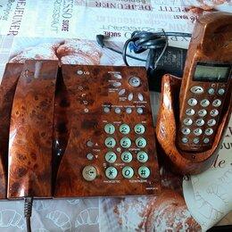 Проводные телефоны - Стационарный телефон рабочий, 0