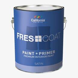 Краски - Суперматовая интерьерная краска для стен super paint flat галлон 3.8л, 0