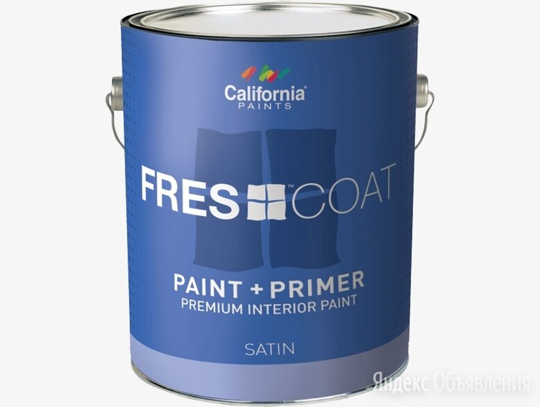 Суперматовая интерьерная краска для стен super paint flat галлон 3.8л по цене 350₽ - Краски, фото 0