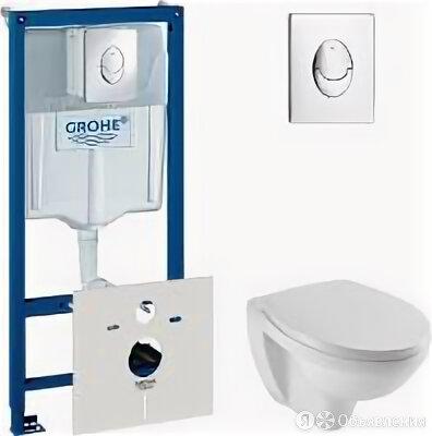 Jacob Delafon Комплект Система инсталляции для унитазов Grohe Rapid SL 387500... по цене 33700₽ - Унитазы, писсуары, биде, фото 0