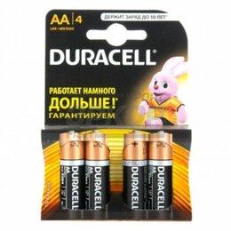 Батарейки - Элемент питания Duracell Basic LR6-4BL AA 1.5V 1/4, 0