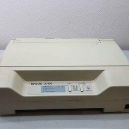 Матричные принтеры - Матричный принтер Epson LX-100, 0