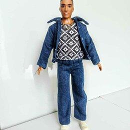 Аксессуары для кукол - Джинсовый костюм для Кена, 0