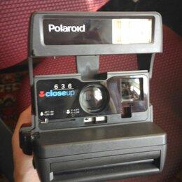 Фотоаппараты моментальной печати - Фотоаппарат полароид 636 closeup, 0