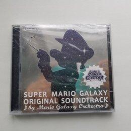 Музыкальные CD и аудиокассеты - Super Mario Galaxy Original Soundtrack Platinum, 0
