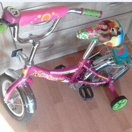 Велосипеды - Велосипед маша и медведь двухколесный, 0