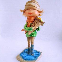 """Статуэтки и фигурки - Интерьерная, коллекционная кукла: Авторская кукла """"Цветы для мамы"""" или """"8 Марта"""", 0"""
