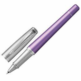 Канцелярские принадлежности - Ручка-роллер PARKER «Urban Premium Violet CT», корпус фиолетовый, хромированные , 0