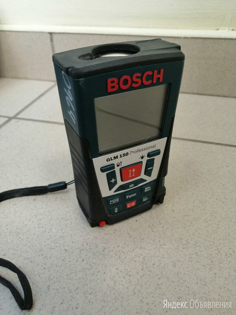 Дальномер Bosch GLM 150 по цене 6500₽ - Измерительные инструменты и приборы, фото 0