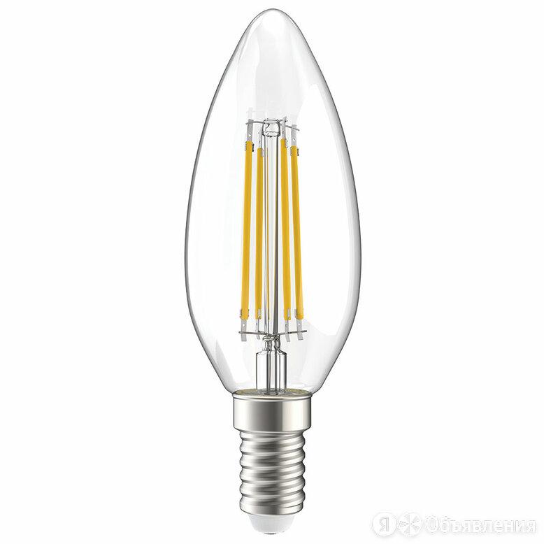 "Светодиодная лампа iEK ECO C35 ""Свеча"" 7Вт 840Лм Е27 4000К по цене 116₽ - Лампочки, фото 0"