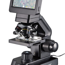Микроскопы - Микроскоп цифровой Bresser Biolux Touch 5 Мпикс HDMI, 0
