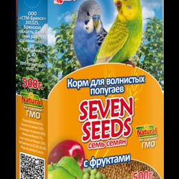 Корма - SEVEN SEEDS Корм для волнистых попугаев с фруктами SS0013 , 0
