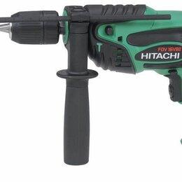Дрели и строительные миксеры - Дрель ударная Hitachi FDV16VB2, 0