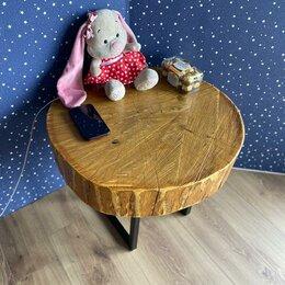 Столы и столики - Столик спил дерева дуба , 0