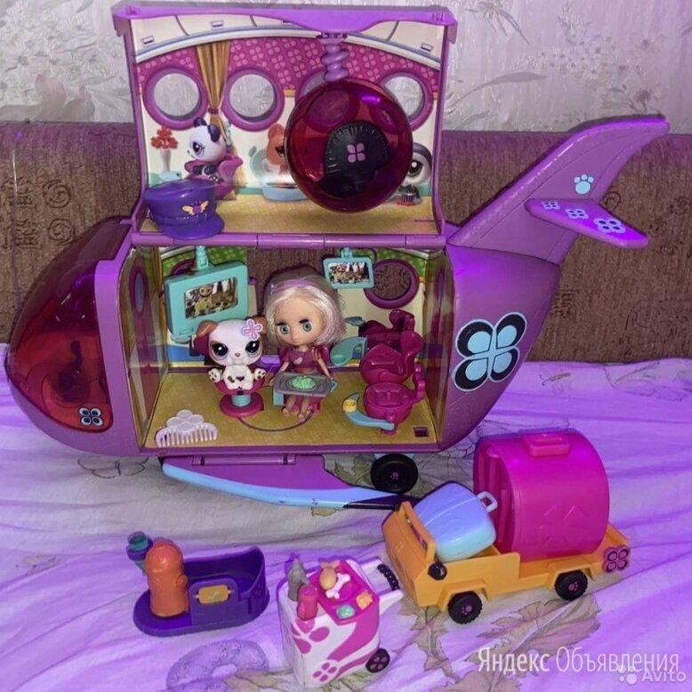 Игровой набор littlest pet shop самолет для зверюшек по цене 2000₽ - Игровые наборы и фигурки, фото 0