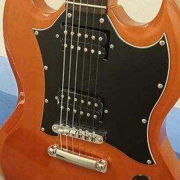 Электрогитары и бас-гитары - Phil Pro SG Standard в идеале. Доставка, 0
