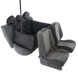 Прочие товары для животных - AutoPremium Гамак для перевозки животных, на 2 сиденья, молния, 145х165 см, П..., 0