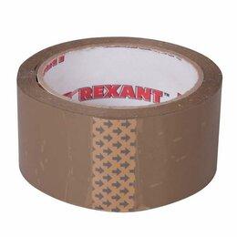 Упаковочные материалы - Скотч упаковочный 48ммx66м 50мкм корич. Rexant 09-4212, 0
