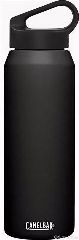 Термос Camelbak Carry Cap (1 литр) черная по цене 3190₽ - Термосы и термокружки, фото 0