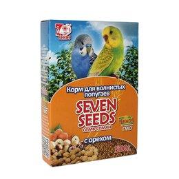 Корма - SEVEN SEEDS Корм для волнистых попугаев с орехами. SS0012 , 0