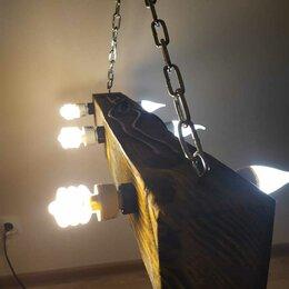 Люстры и потолочные светильники - Люстра потолочная в стиле лофт, 0