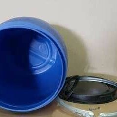 Бочки - Бочка пластиковая 48 л б/у чистая , 0