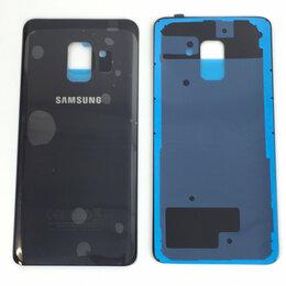 Корпусные детали - Задняя крышка для Samsung Galaxy A8 2018 (A530) черная, 0