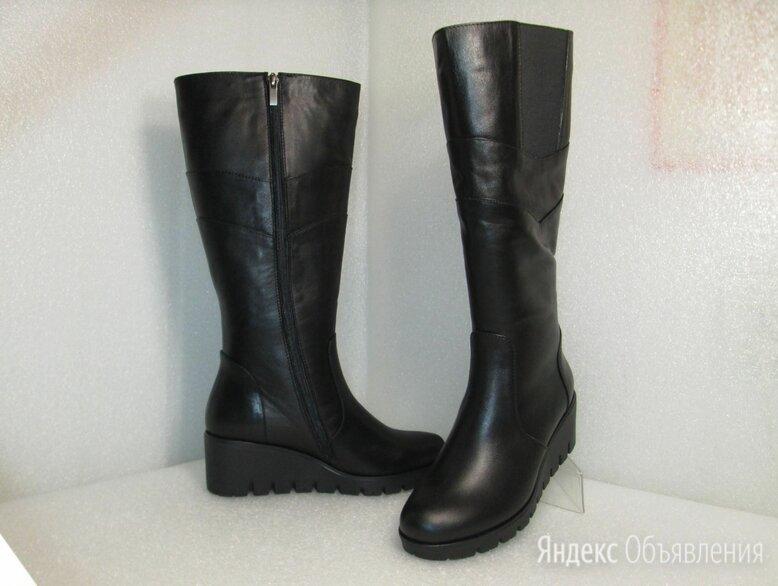 Сапоги кожаные женские зимние классические по цене 4100₽ - Сапоги, фото 0