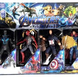 Игровые наборы и фигурки - Набор Супергероев Мстители Avengers, 4 фигурки №1, 8893, 0
