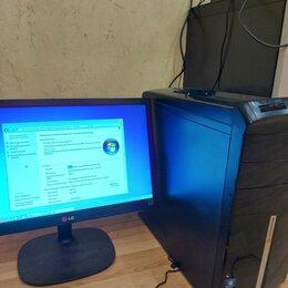 Настольные компьютеры - Настольный компьютер 4 ядра HP, 0