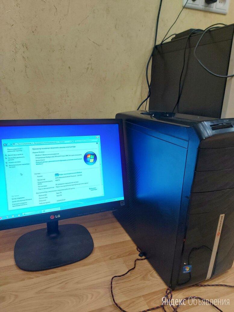 Настольный компьютер 4 ядра HP по цене 8000₽ - Настольные компьютеры, фото 0