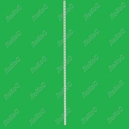 Сопутствующие товары - Штатив (стойка) двухсторонний L=1600мм, окрашенный, белый, ШТС-1600-2, 0