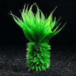 Растения для аквариумов и террариумов - Растение искусственное аквариумное, 30 см (комплект из 2 шт.), 0