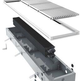 Встраиваемые конвекторы и решетки - Конвектор внутрипольный JAGA Mini Canal JR (1200х140х90) алюминиевая решетка SNA, 0