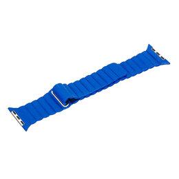 Ремешки для умных часов - Ремешок для Apple Watch Magnetic Loop 42/44mm синий, 0