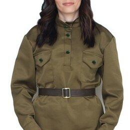 Карнавальные и театральные костюмы - Военная форма взрослый Гимнастерка женская, размер 40-42, 44-46, 48-50 (40-42), 0