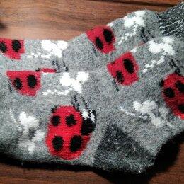 Колготки и носки - Теплые носки со снегирями женские размер 38-39, 0