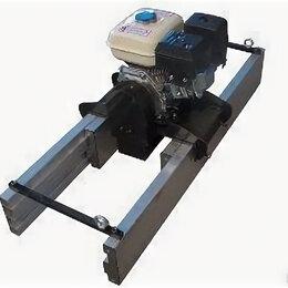Глубинные вибраторы - Виброрейка алюминиевая с бензиновым двигателем Нonda 160F Vmax 4G, 0
