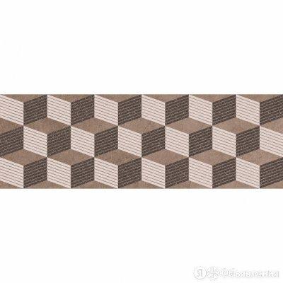 Декор Кронштадт коричневый (04-01-1-17-03-15-2222-0) 20х60 (5шт) по цене 340₽ - Керамическая плитка, фото 0