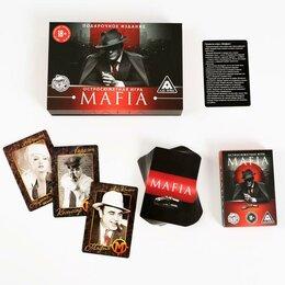 Настольные игры - карты в подарочной коробке Мафия 13,5*11*2,5 см, 0