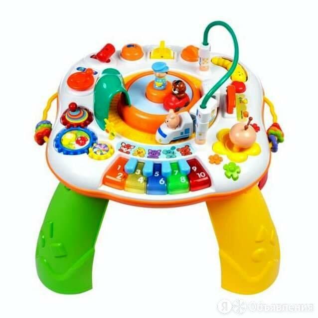 """Жирафики Мультифункциональный игровой столик """"Мир приключений"""": обуч. реж. на... по цене 5792₽ - Развивающие игрушки, фото 0"""