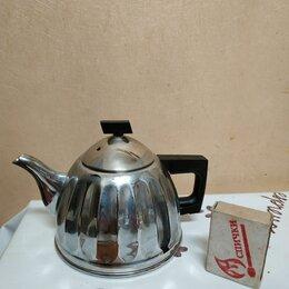 """Заварочные чайники - Чайник 0.5 литра никелированный """"кольчугинский"""", 0"""