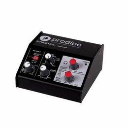 Оборудование для звукозаписывающих студий - Prodipe STUDIO22+ Аудио интерфейс USB, 0