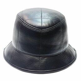 Головные уборы - Панама шляпа натуральная кожа мужская , 0