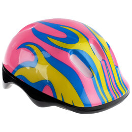 Спортивная защита - ONLITOP Шлем защитный детский OT-H6, размер M (55-58 см), цвет розовый, 0