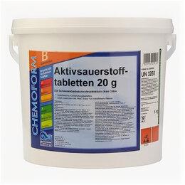 Дезинфицирующие средства - Chemoform Аквабланк О2 в таблетках (20 г), активный кислород для дезинфекции ..., 0
