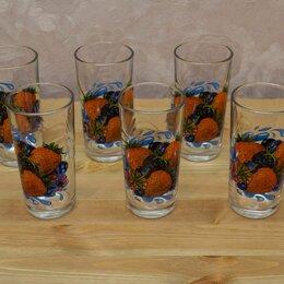 Бокалы и стаканы - Стаканы стекло. Новые, 0